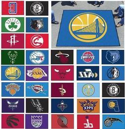 NBA Teams - 5' X 6' Tailgater Area Rug Floor Mat