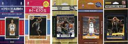 NBA Utah Jazz 5 Different Licensed Trading Card Team Sets, B