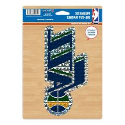 """NBA Utah Jazz Wincraft 6"""" x 9"""" Indoor/Outdoor Prismatic Die-"""