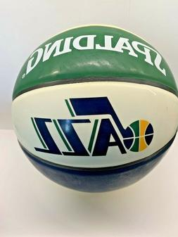 SPALDING NBA Utah Jazz Arena Full Size Game Basketball 29.5""