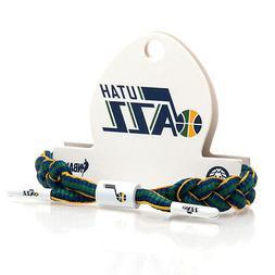 Rastaclat NBA Utah Jazz Blue Yellow Basketball Shoelace Brac