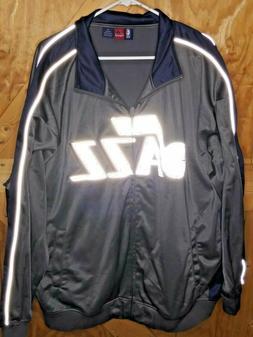 *** Majestic NBA Utah Jazz Mens size 3X Polyester Track Jack