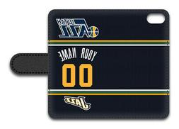 NBA Utah Jazz Personalized Name/Number iPhone iPod Wallet Ca