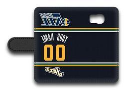 NBA Utah Jazz Personalized Name/Number Samsung Phone Wallet