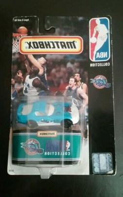 New 1998 Matchbox NBA Collection Utah Jazz Car