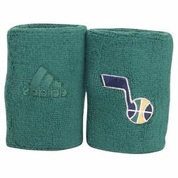 New! ADIDAS NBA Utah Jazz Green Wristbands Sweat Basketball