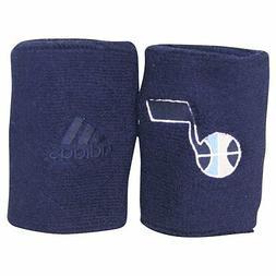 New! ADIDAS NBA Utah Jazz Navy Blue Wristbands Sweat Basketb