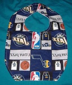 NEW  BABY CHILD BIB   UTAH JAZZ   BASKETBALL NBA TEAM    / S
