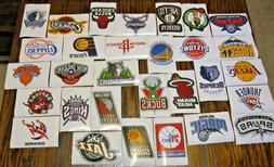 NEW NBA Logo Stickers PICK FROM ALL 30 TEAMS Basketball Deca