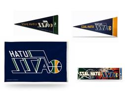 New NBA Utah Jazz  Mini Pennant,Banner Flag,Bumper Sticker