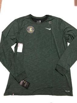 NEW Nike Utah Jazz - Green Dri-Fit Long Sleeve Shirt Size XX