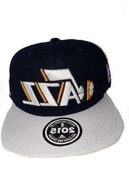 NEW Utah Jazz Adidas Mens Size OSFA 2015 NBA Draft Cap Snapb