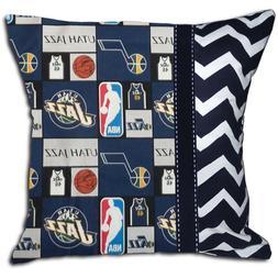 NEW Utah Jazz NBA Basketball Decorative Throw Pillow