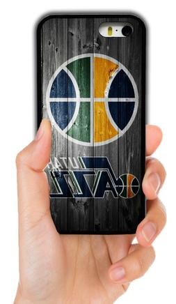 NEW UTAH JAZZ NBA RUBBER PHONE CASE COVER FOR IPHONE X 4 5S