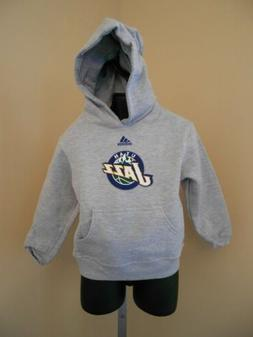 New- Utah Jazz Toddler sizes 2T-3T-4T Adidas Gray Pullover H