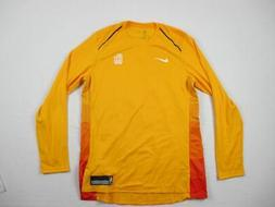 NEW Nike Utah Jazz - Yellow Dri-Fit Long Sleeve Shirt