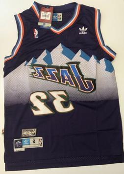 NWT Karl Malone #32 NBA Utah Jazz Swingman Throwback Jersey
