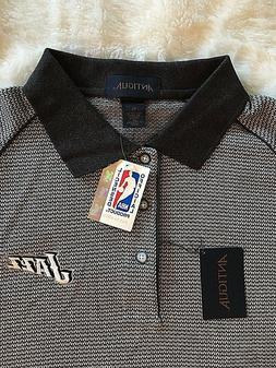 NWT Men's Official NBA Utah JAZZ Polo Shirt Antigua Size XL