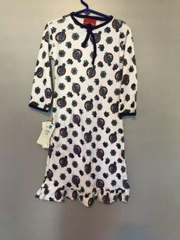 NWT Reebok Utah Jazz Girls Long Sleeve White Nightgown Size