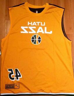 NWTs Donovan Mitchell Utah Jazz Men's Jersey Tank Top Sleeve