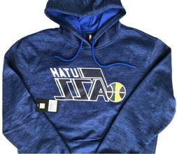 NBA UNK Official Utah Jazz Heather Blue Multi Hoodie Sweatsh