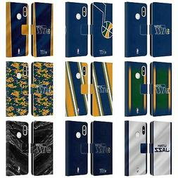 OFFICIAL NBA UTAH JAZZ LEATHER BOOK WALLET CASE FOR XIAOMI P