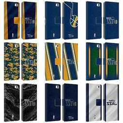 OFFICIAL NBA UTAH JAZZ LEATHER BOOK WALLET CASE COVER FOR HU