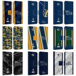 OFFICIAL NBA UTAH JAZZ LEATHER BOOK WALLET CASE FOR SONY PHO