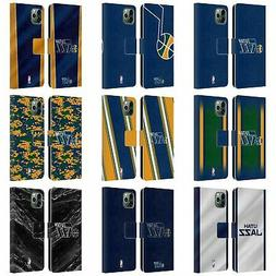 OFFICIAL NBA UTAH JAZZ LEATHER BOOK WALLET CASE COVER FOR AP