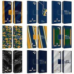 OFFICIAL NBA UTAH JAZZ LEATHER BOOK WALLET CASE COVER FOR LE