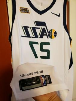 Rudy Gobert 2017-18 Utah Jazz Authentic NBA Game Jersey Sz 5