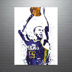 Rudy Gobert Utah Jazz Poster FREE US SHIPPING