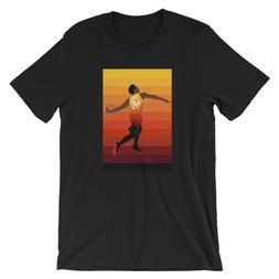 Spida Dunk Shirt - Utah, Jazz, Sunset Jersey, Donovan Mitche