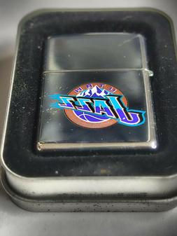 Sweet Retired NBA Utah Jazz Basketball Zippo Lighter