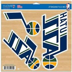 "WinCraft Utah Jazz 11"" x 11"" 3-Pack Car Magnet Set"