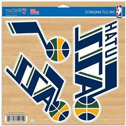 "Utah Jazz WinCraft 11"" x 11"" 3-Pack Car Magnet Set"