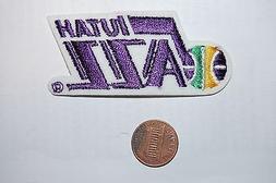 "Utah Jazz 2 7/8"" Vintage Retro 1979-1996 Logo Patch Emblem B"