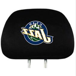 Utah Jazz 2 Pack Auto Car Truck Headrest Covers