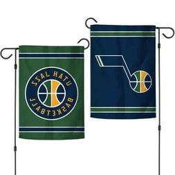 Utah Jazz 2 Sided Double Sided Garden Flag OUTDOOR RATED FRE