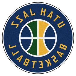 """Utah Jazz 27"""" Roundel Area Rug Floor Mat"""