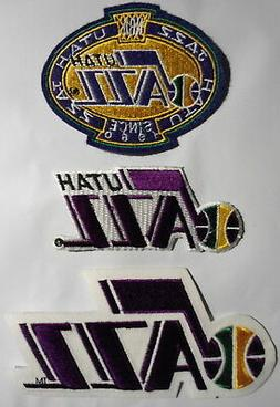 UTAH  JAZZ  3   PATCH  SET  OLDER  PATCHES  NEW  CONDITION