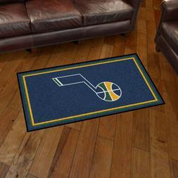 Utah Jazz 3' X 5' Decorative Ultra Plush Carpet Area Rug