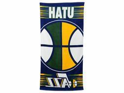 "Utah Jazz  30"" x 60"" Ball Beach Towel"