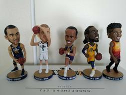 Utah Jazz 5 Bobblehead set Donovan Mitchell Ingles Rudy Gobe