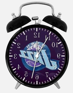 "Utah Jazz Alarm Desk Clock 3.75"" Home or Office Decor W177 N"