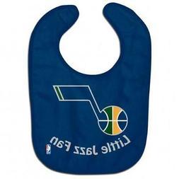 Utah Jazz All-Pro Baby Bib  NBA Infant Newborn Cotton Terryc