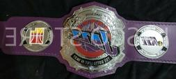 Utah Jazz American Footlball Team title belt