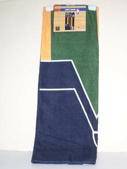 Utah Jazz Beach Towel Green Yellow Blue NBA 30 x 60 Brand Ne