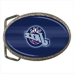 utah jazz belt buckle nba basketball