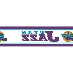 Utah Jazz Border BHT514 basketball wallpaper blue purple gol